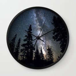 Sentinels of the Milky Way Wall Clock