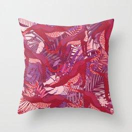 Wild Vibes I. Throw Pillow