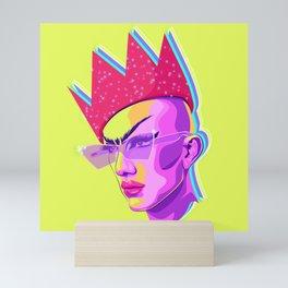 QUEEN SASHA VELOUR Mini Art Print