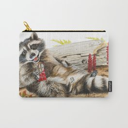 Chocolate Bandit Carry-All Pouch