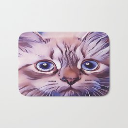 Birman The Blue Eyed Cat Bath Mat