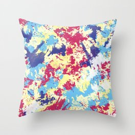 Abstract IV Throw Pillow