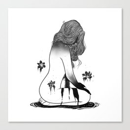 Deep beauty. Canvas Print