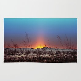 Winter Sun Rising Rug