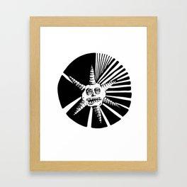 6 Points Framed Art Print