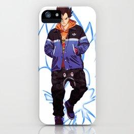 Super Saiyan Vegeta x AJ 1 iPhone Case