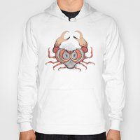 cancer Hoodies featuring Cancer by Vibeke Koehler