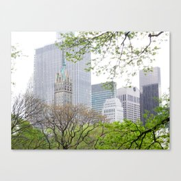 More Romantic in Photo Form Canvas Print