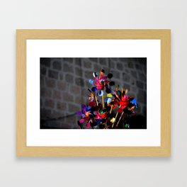 Games in Mexico Framed Art Print