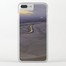 Imperial Sand Dunes Clear iPhone Case