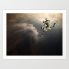 SkyWater Hero Art Print