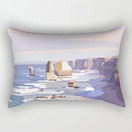 Geometric Great Ocean Road Rectangular Pillow