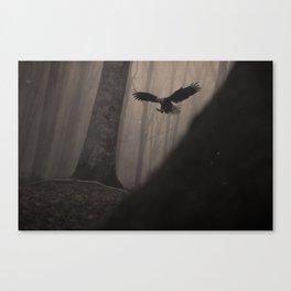 Magic Eagle Canvas Print