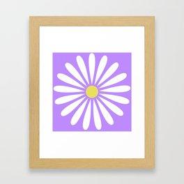 A Daisy Framed Art Print