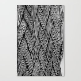 Steel Braided Strap Canvas Print