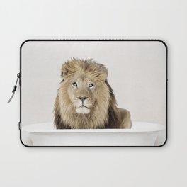Lion Bathtub (c) Laptop Sleeve