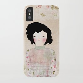 Flowers of evil iPhone Case