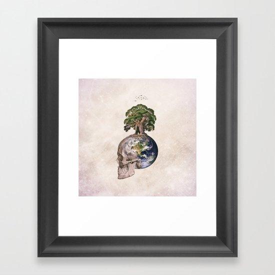 Life (Wandering Through Space) Framed Art Print