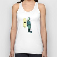 cartoons Tank Tops featuring like in cartoons by musa