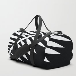 PALM LEAF WHITE LEAF Duffle Bag