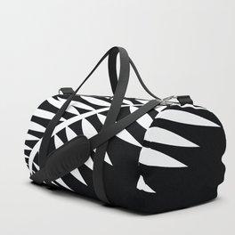 PALM LEAF WHITE LEAF Duffle Bag