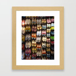 These Clogs Were Made For Walking Framed Art Print