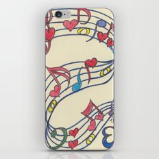 Lovely Melody iPhone & iPod Skin