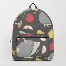 Hedgehog and Apples Backpack