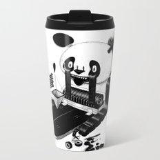 Panda Protest Metal Travel Mug