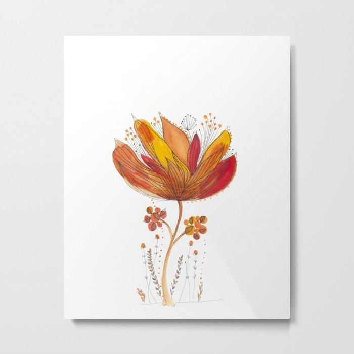 Botanical vibes 13 Metal Print