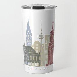 Bremen skyline poster Travel Mug