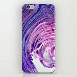 Violaceous Velocity iPhone Skin