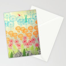 Whimsical Garden Stationery Cards
