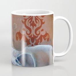 Oil Paint Study - Magpie Pattern Coffee Mug