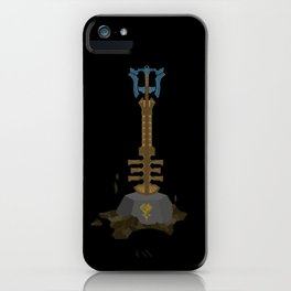 Keyblade Master Sword iPhone Case