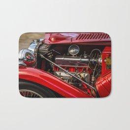 Motor Vintage Car Bath Mat