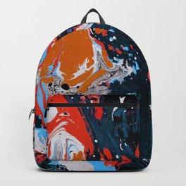 Abstract artistic painting Backpack
