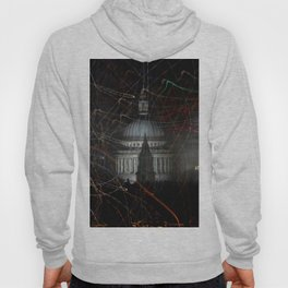 St Paul's Cathedral behind colours Hoody