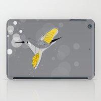 hummingbird iPad Cases featuring Hummingbird by Steph Dillon