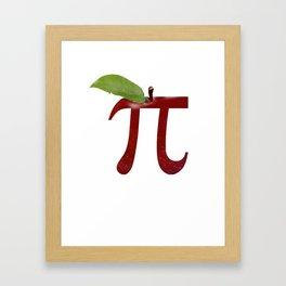 Apple Pi Framed Art Print