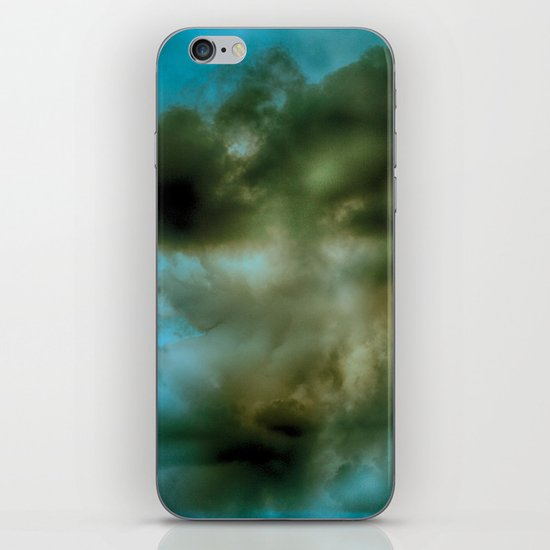 Abstract stormy clouds iPhone & iPod Skin