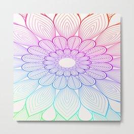 Pattern flower Metal Print
