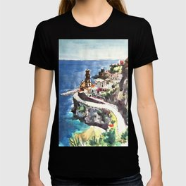 Amalfi Coast Positano Italy T-shirt