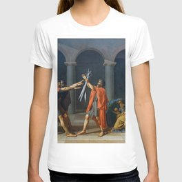Oath of the Horatii by Jacques-Louis David T-shirt