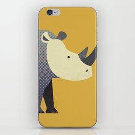 Whimsy Rhinoceros II iPhone Skin