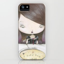 I HATE YOU DUDE! iPhone Case