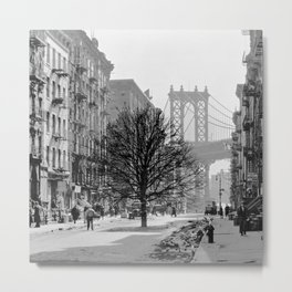 Brooklyn Growth Metal Print