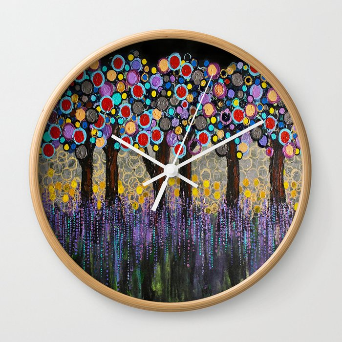 :: When Night Falls :: Wall Clock