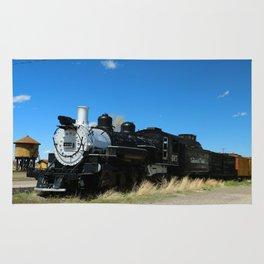 Denver & Rio Grande Steam Engine Rug