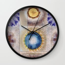 Serology Bald Flowers  ID:16165-155655-05591 Wall Clock